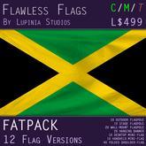 Jamaica Flag (Fatpack, 12 Versions)