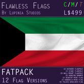 Kuwait Flag (Full Kit, Boxed) - Flawless Flags
