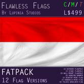 Indonesia Flag (Fatpack, 12 Versions)