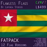 Togo Flag (Fatpack, 12 Versions)