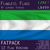 Sierra Leone Flag (Fatpack, 12 Versions)