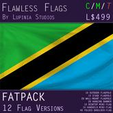 Tanzania Flag (Fatpack, 12 Versions)