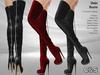 C&S Debi Boots for Maitreya Lara, Slink (P, H), Belleza (V, I, F), Tonic and Voluptuous  . 10 Textures HUD.