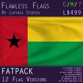 Guinea-Bissau Flag (Fatpack, 12 Versions)