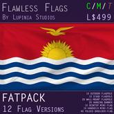 Kiribati Flag (Fatpack, 12 Versions)