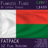 Madagascar Flag (Fatpack, 12 Versions)