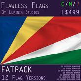 Seychelles Flag (Fatpack, 12 Versions)
