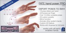 FATE Hand Poser PRO v3.0