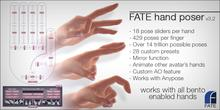 FATE Hand Poser HUD