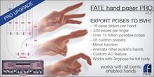 FATE Hand Poser Upgrader (BVH Export)