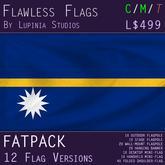 Nauru Flag (Fatpack, 12 Versions)