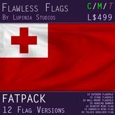 Tonga Flag (Fatpack, 12 Versions)