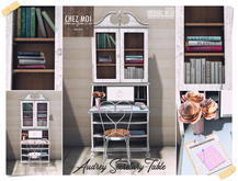 Audrey Secretary Table ♥ CHEZ MOI