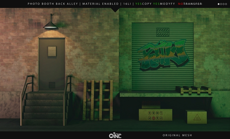 Oinc - Photo Booth - Back Alley -ADD-