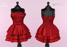 Bowtique - Alicia Dress (Maitreya) Red