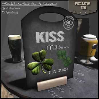 Saint Patrick's Day GIFT !! Follow US !! Saint Patrick's Day I'm Irish board COPY