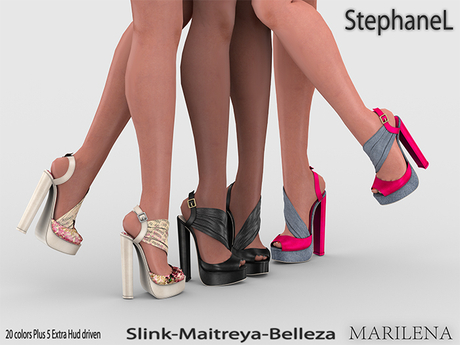GIFT [StephaneL] MARILENA SHOES - SLINK-MAITREYA-BELLEZA