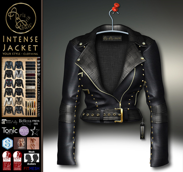 New PROMOTION LIMITED***ArisArisB&W~Intense Jacket