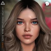 Lelutka Erin EVOLUTION Head - Ebony Shape