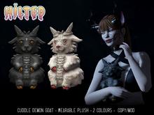 HILTED - Cuddle Demon Goat