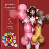 {-Maru Kado-} sweets bone pillow