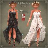 DEMO Butterflies Gown by Caverna Obscura - Maitreya, SLink Physique