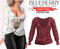 Blueberry - Unbothered - Oversized Tops - {Extra 4}