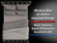 [Ruckus] Bed 4LI Addon [better textures, better LOD, better design + accurate physics model]