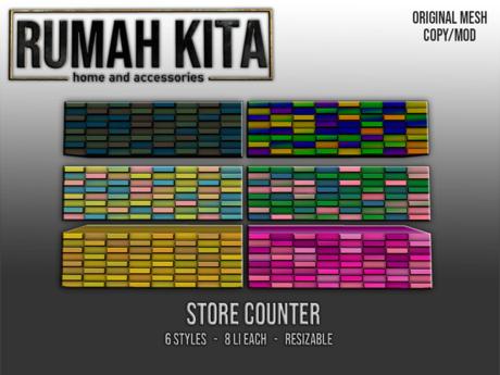Rumah Kita - Store Counter