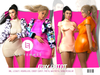 LF. Foxy Outfit [FATPACK] BBL HG eBODY Freya Maitreya Legacy SK