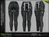 DAKARI FEMALE PANTS BLACK - MESH - Maitreya Lara, Belleza Freya, Legacy - FashionNatic
