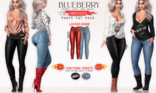 Blueberry - Unbothered - Jeans & Leather Pants - Fat Pack