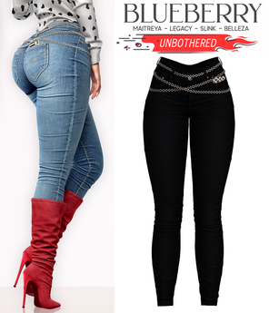Blueberry - Unbothered - Denim Jeans - Black