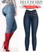 Blueberry - Unbothered - Denim Jeans - Darkblue