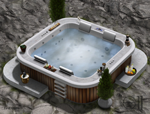 Hot tub, Jacuzzi Favola - PG - 76 animations
