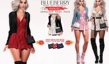 Blueberry - Reachless - Over Shoulder Bags - Fat Pack