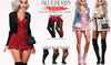 Blueberry Reachless - Boots & Stockings - Fat Pack