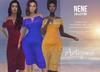 Artizana - Nene Collection - Off-Shoulder Pencil Dress + HUD