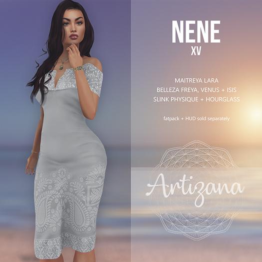 Artizana - Nene XV - Off-Shoulder Pencil Dress