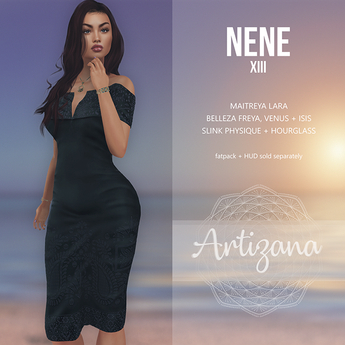 Artizana - Nene XIII - Off-Shoulder Pencil Dress