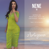 Artizana - Nene XI - Off-Shoulder Pencil Dress