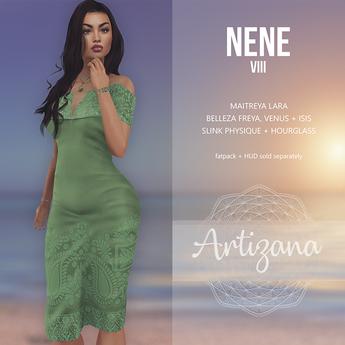 Artizana - Nene VIII - Off-Shoulder Pencil Dress