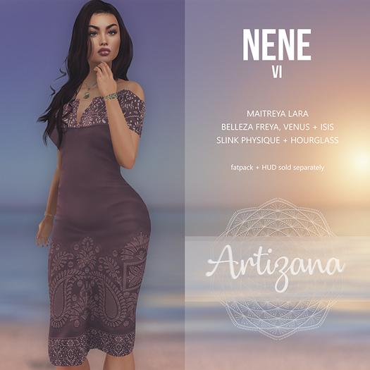 Artizana - Nene VI - Off-Shoulder Pencil Dress