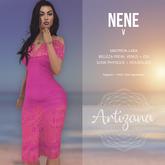 Artizana - Nene V - Off-Shoulder Pencil Dress