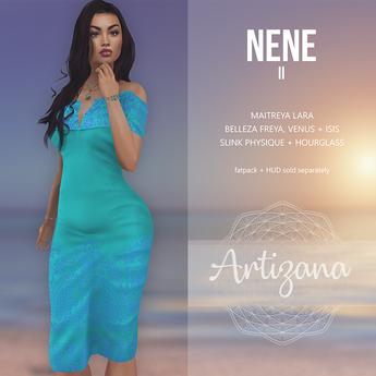 Artizana - Nene II - Off-Shoulder Pencil Dress