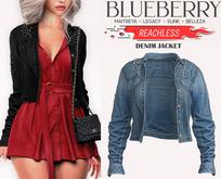 Blueberry - Reachless - Denim Jacket - Bluecute
