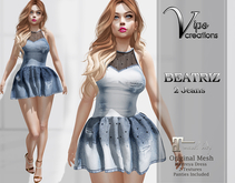 [Vips Creations] - Original Mesh Dress-[Beatriz-Jeans]-Maitreya
