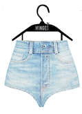.WINGED. High Waist Shorts