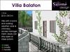Villa Balaton for 1024 sqm parcels or bigger