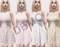 [Vips Creations]-DEMO-Original Mesh Dress-[Beatriz-Satins]-Maitreya